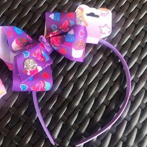 Jojo Siwa Purple Cupcakes Headband